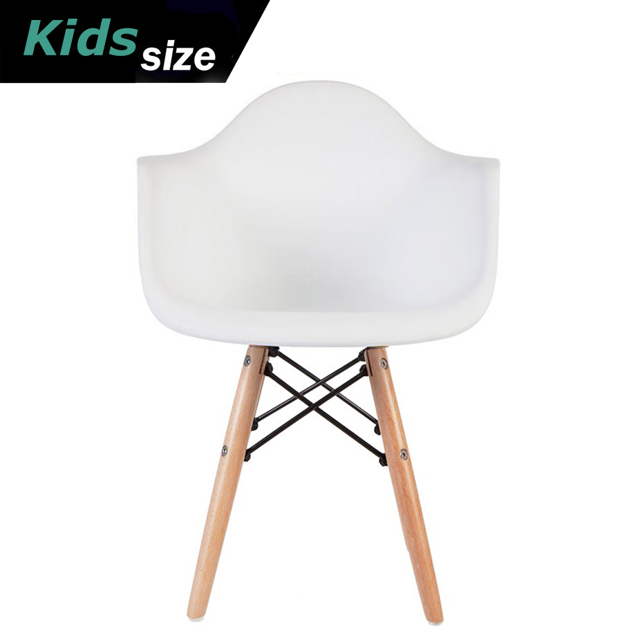 modern plastic chair child potty 2xhome kids size gray chairs with wood leg armchairs walmart com