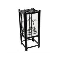 Oriental Furniture Bamboo Tree Shoji 18'' Table Lamp ...