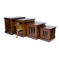 DenHaus TownHaus Wood Dog Crate Furniture - Walmart.com