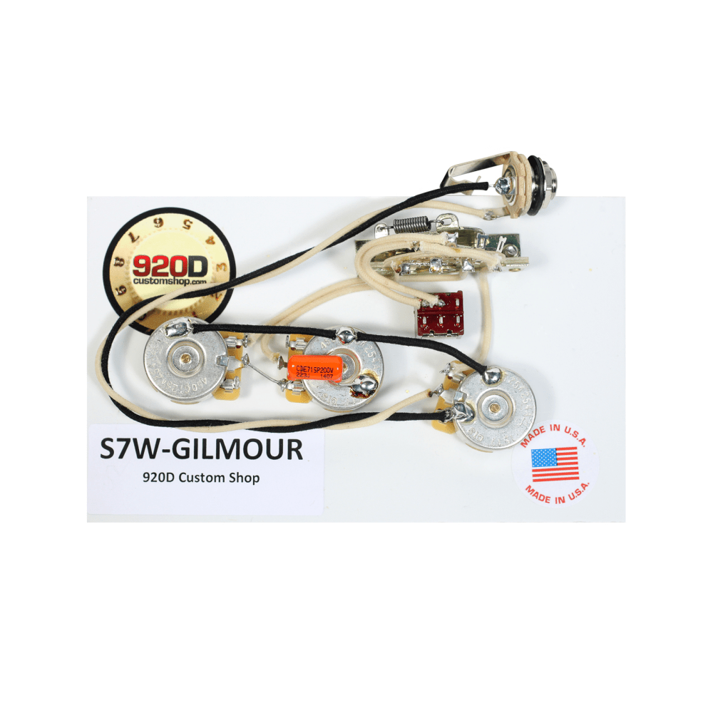 medium resolution of fender strat stratocaster david gilmour 7 way wiring harness mini toggle neck on