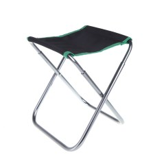 Fishing Chair Carry Bags Folding New Zealand Portable Aluminum Oxford Cloth For Outdoor Camping With Bag Green Walmart Com