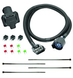 tekonsha 118271 trailer wiring connector 7 way round replacement for oem wiring harness [ 1500 x 1500 Pixel ]