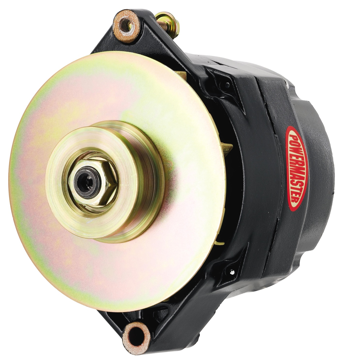 small resolution of powermaster 57294 alternator generator gm 12si style single v belt pulley 150 amp 1 or 3 wire black walmart canada