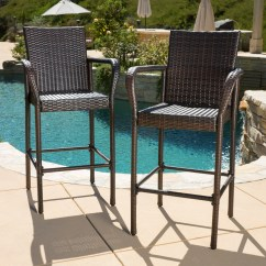 Outdoor Bar Chairs Chair Covers For A Party Stools Walmart Com Product Image Wicker Set Of 2 Brown