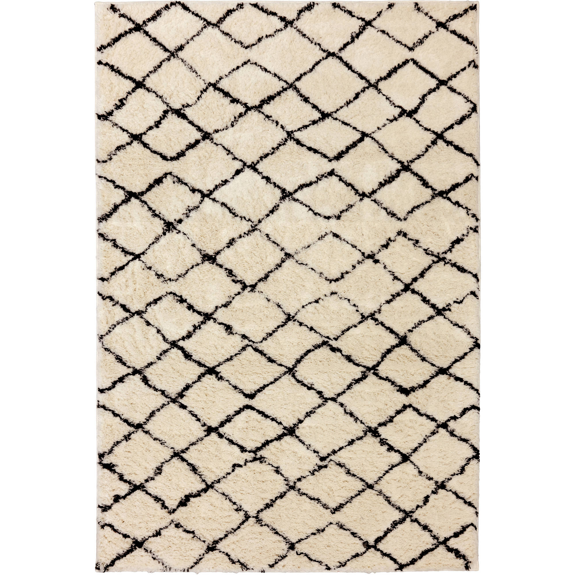 walmart rugs for living room gold curtains better homes gardens bhg merino plush 60x84 area rug com