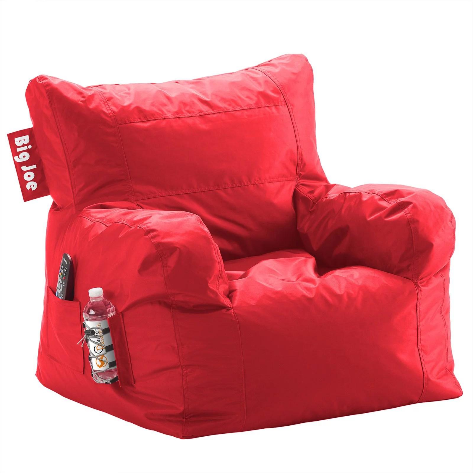 bean bag chairs cheap deck for sale big joe chair multiple colors 33 x 32 25 walmart com