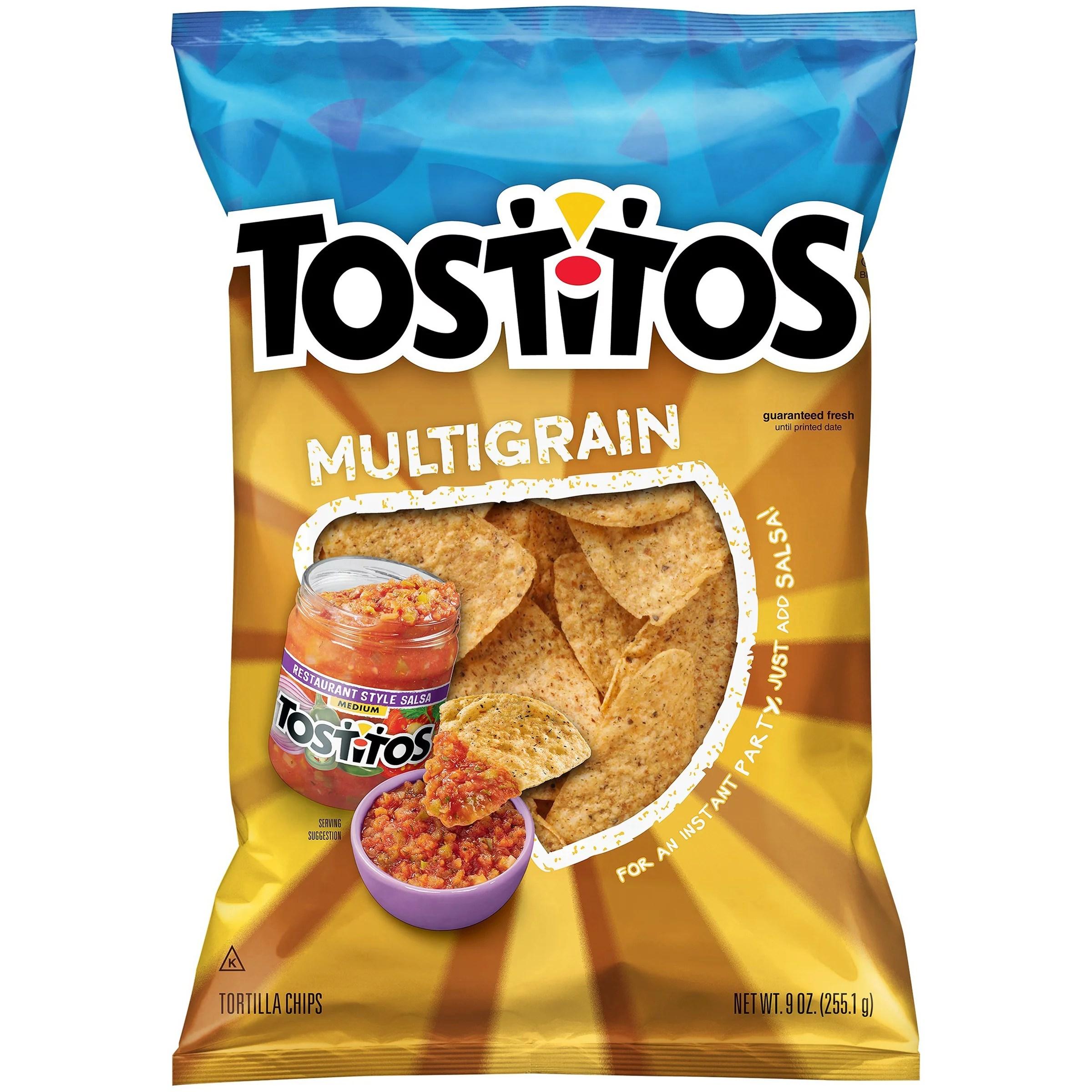 Tostitos Multigrain Tortilla Chips 9 Oz