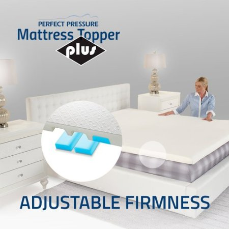 Perfect Pressure 3 Adjule Firmness Mattress Topper Plus