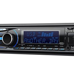 sony xplod cdx gt65uiw car cd receiver with usb 1 wire and dynamic color illuminator walmart com [ 2400 x 1800 Pixel ]
