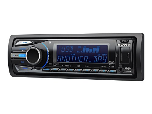 small resolution of sony xplod cdx gt65uiw car cd receiver with usb 1 wire and dynamic color illuminator walmart com