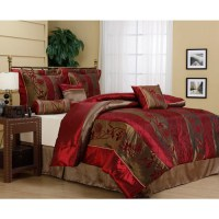 Rosemonde 7-Piece Bedding Comforter Set - Walmart.com