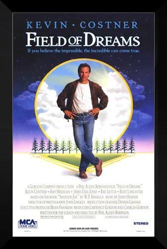 frametowall field of dreams framed 27x40 movie poster walmart com