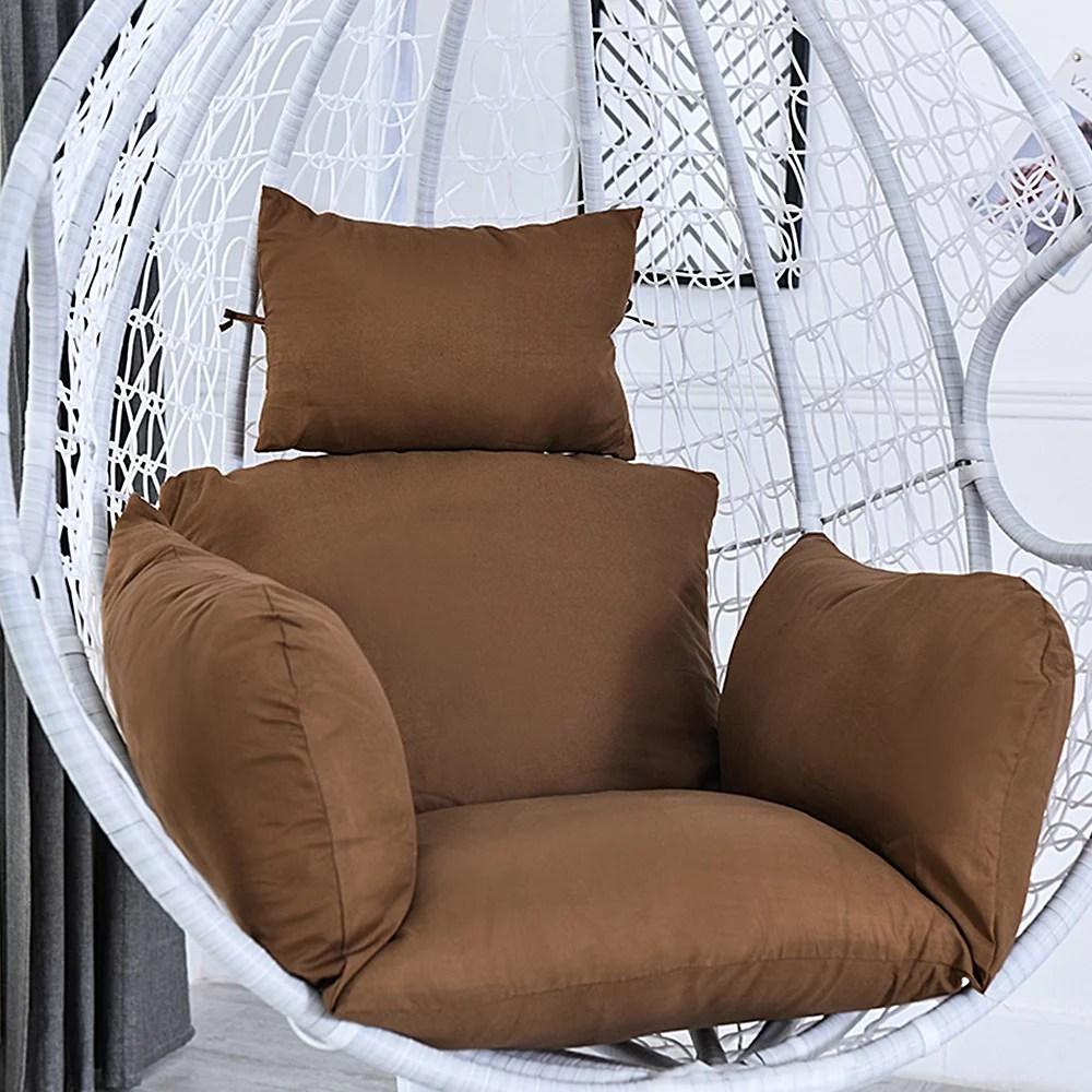 hotbest hammock chair cushion swing seat cushion hanging chair back with pillow cushion pad