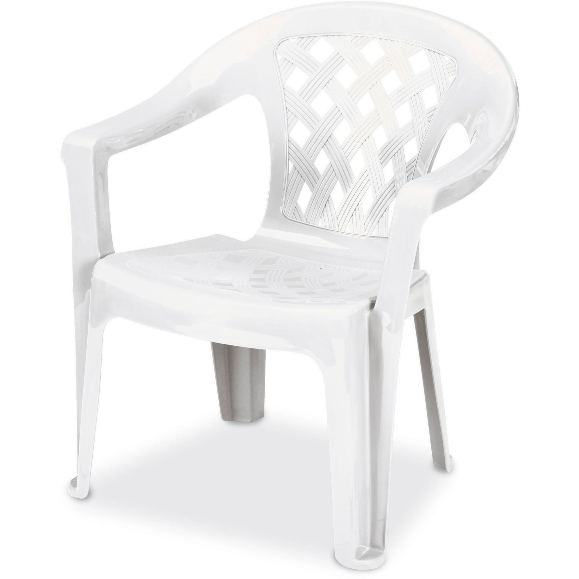 Resin Chairs Us Leisure Resin Big And Tall Lowback Chair White