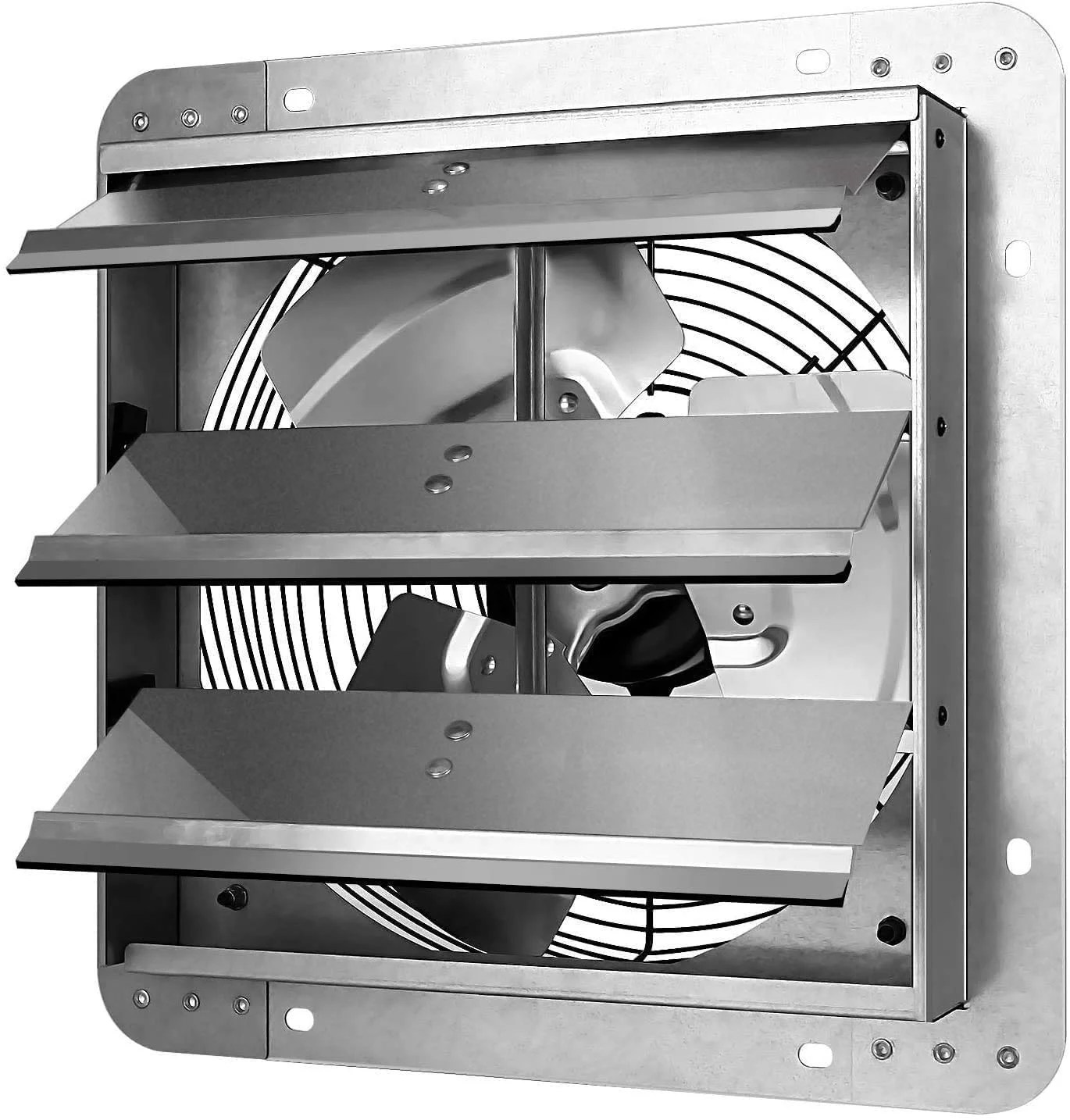 iliving 10 inch variable speed shutter exhaust fan wall mounted