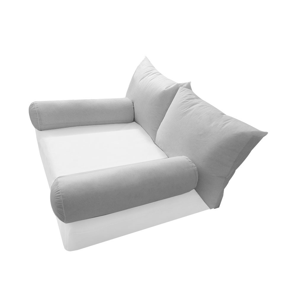 style2 twin size bolster back rest pillow cushion polyester fiberfill insert only