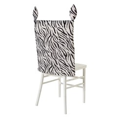 Party Chair Covers Walmart Ottoman 2 Zebra Print Com