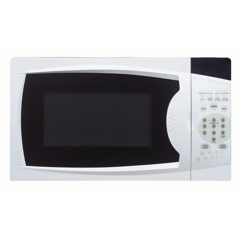 magic chef 0 7 cu ft 700w countertop microwave oven in white walmart com