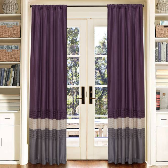 Lush Decor C200 Avery Shower Curtain