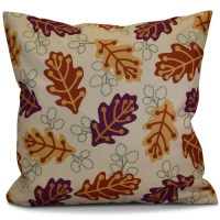 e by design Flipping for Fall Retro Leaves Floral Outdoor ...
