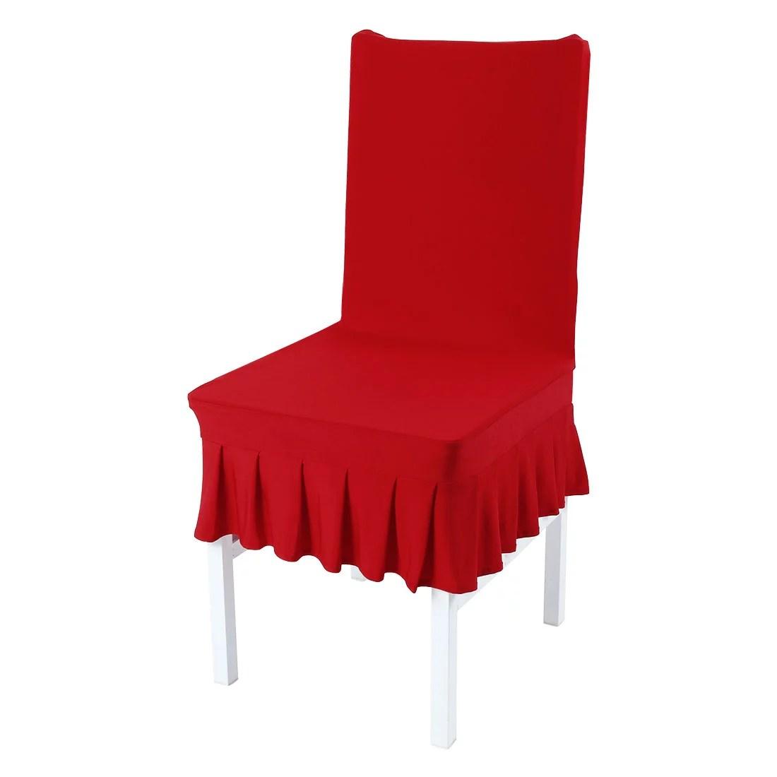 santa chair covers australia upholstered chairs dining walmart com product image piccocasa spandex room skirt slipcover