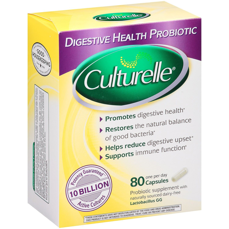 Culturelle? Digestive Health Probiotic Capsules 80 Ct ...