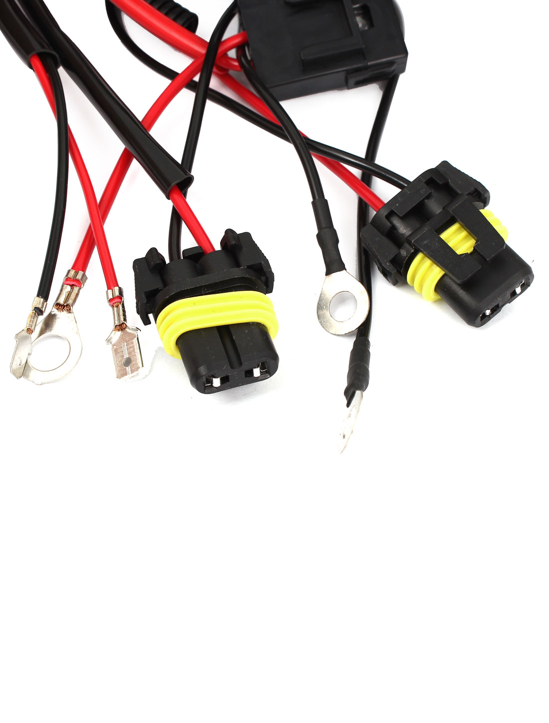 hight resolution of hid xenon conversion kit resistor relay wire harness anti flicker h1 40a 12v walmart canada
