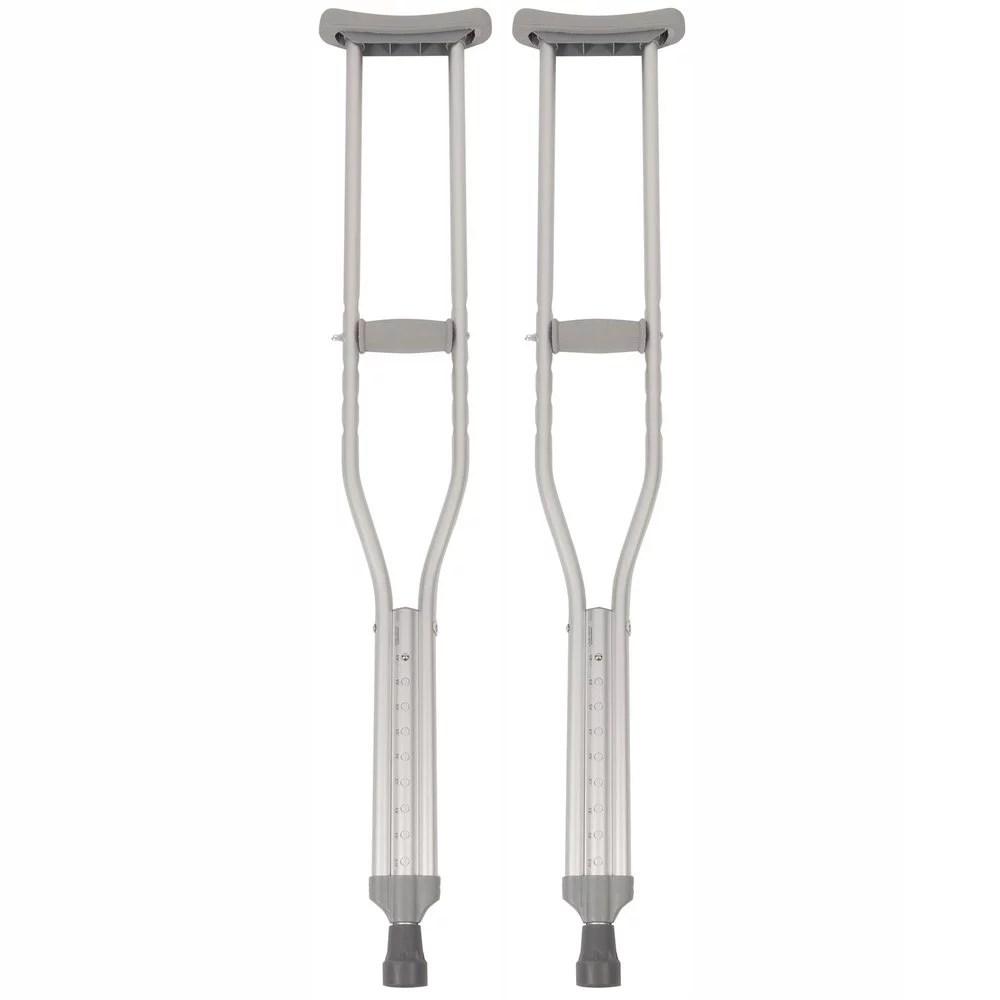McKesson Aluminum Tall Adult Underarm Crutches 5' 10