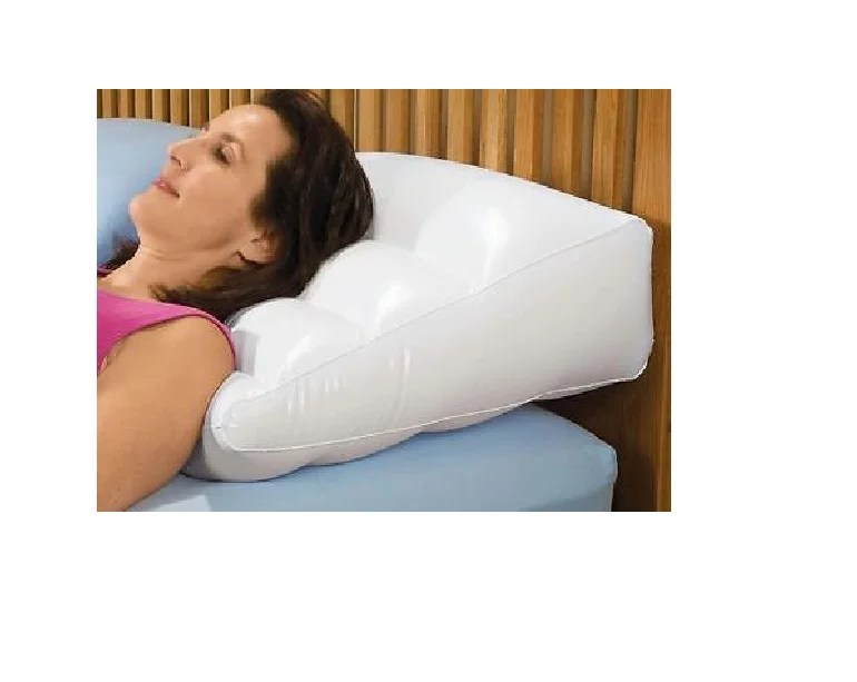 new soft inflatable bed wedge with cover