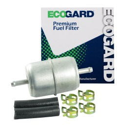 ecogard xf33031 small engine fuel filter 1 4 or 5 16 line fits lawn mowers tractors generators atvs and more walmart com [ 1000 x 1000 Pixel ]