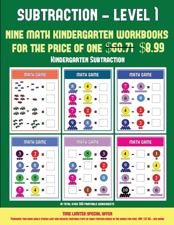 Kindergarten Subtraction Kindergarten Subtraction Taking