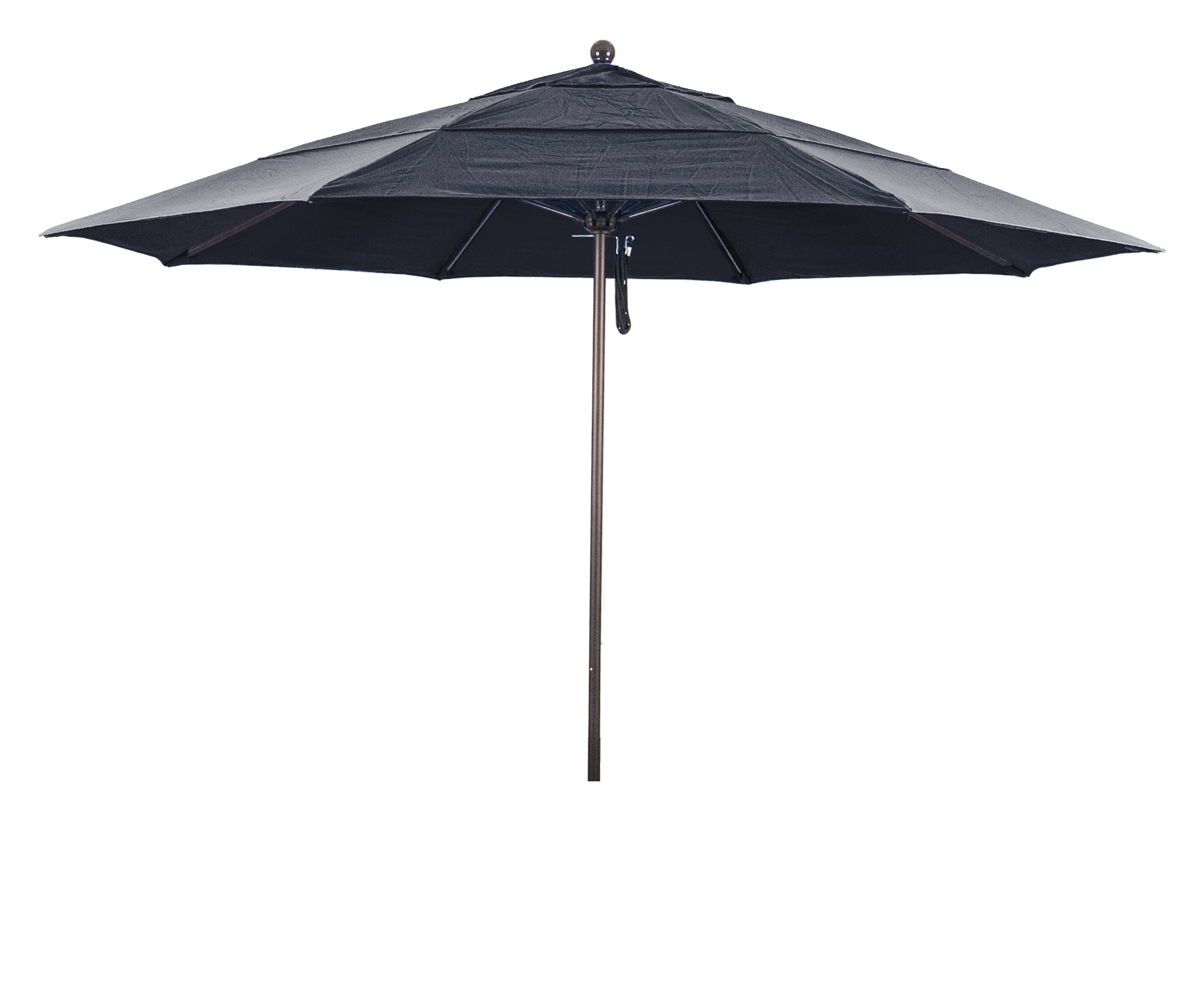 1139 Venture Series Patio Umbrella With Matted White