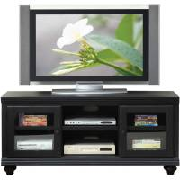 ACME Barra Black TV Stand for Flat Screen TVs up to 60 ...