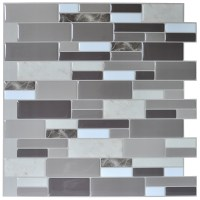Art3d Peel & Stick Brick Kitchen Backsplash Self