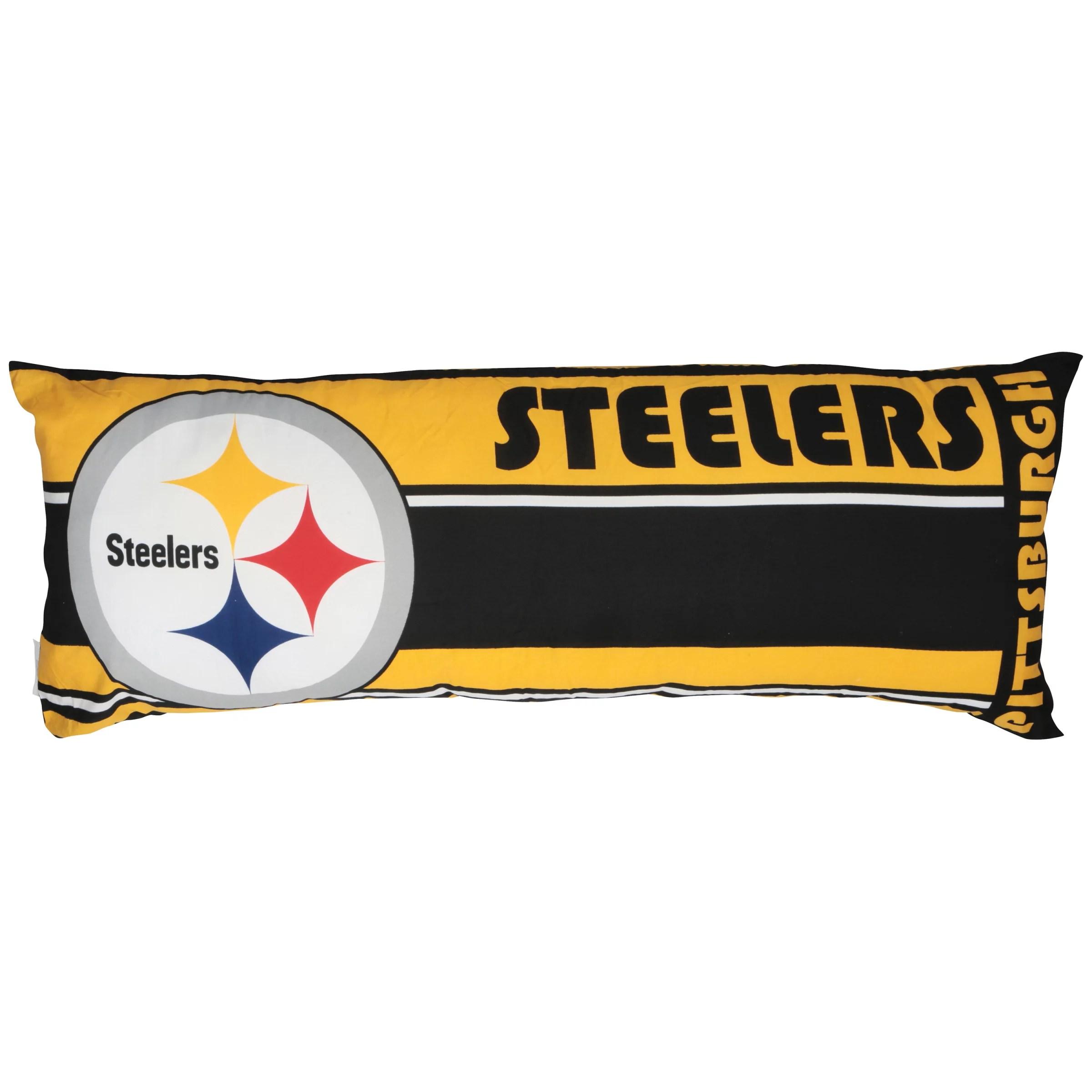 NFL Northwest Pittsburgh Steelers Body Pillow  Walmartcom
