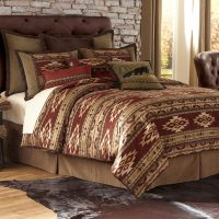 Desert Rust Comforter Set - King - Walmart.com