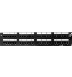 at t lucent 1100cat5 48 port cat5 modular patch panel 2u category 5 walmart com [ 2000 x 2000 Pixel ]