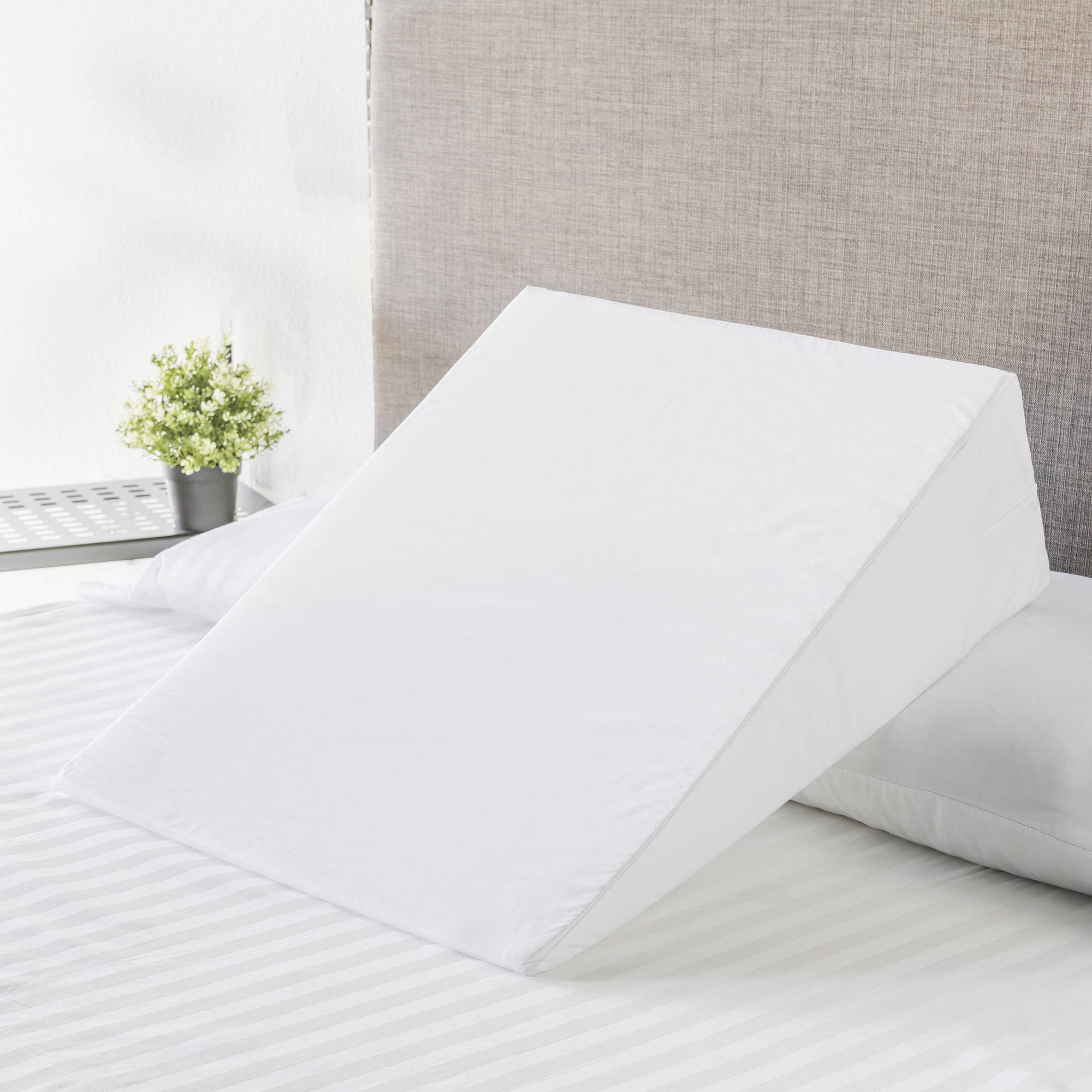 Mainstays MultiUse Bed Wedge Foam Pillow Walmartcom