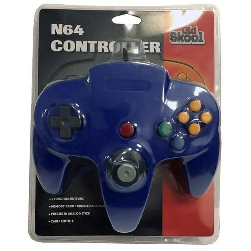 N64 Controller Blue Walmart