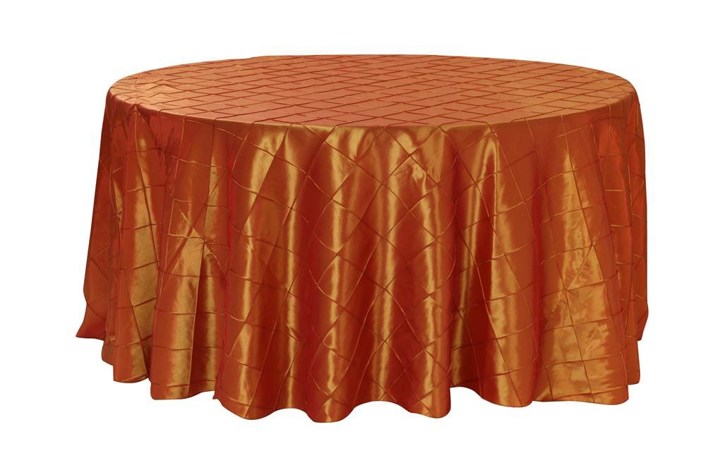 burgundy chair covers wedding barber tree your 132 inch pintuck taffeta round tablecloth for party birthday patio etc walmart com