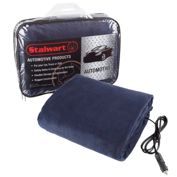 2 Pack Electric Heater Car Blanket- Heated Travel Throw Blanket And Rv 12
