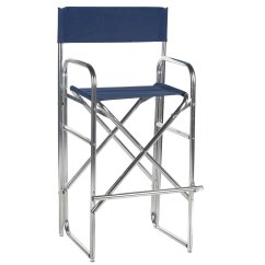 Aluminum Directors Chair Ashley Furniture Rocking 30 5 Inch Frame Bar Height Walmart Com