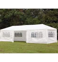 palm springs 10 x 30 party tent wedding canopy gazebo pavilion w side walls walmart com [ 1000 x 1000 Pixel ]