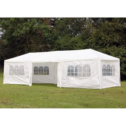 small resolution of palm springs 10 x 30 party tent wedding canopy gazebo pavilion w side walls walmart com