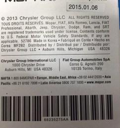 2013 chrysler 200 fuel filter [ 1280 x 960 Pixel ]