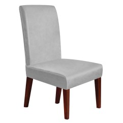 Gray Chair Covers For Weddings Dining Room Chairs White Leather Walmart Com Product Image Slipcovers Soft Spandex Stretch Removable Washable Banquet Home Party Hotel Wedding Seat