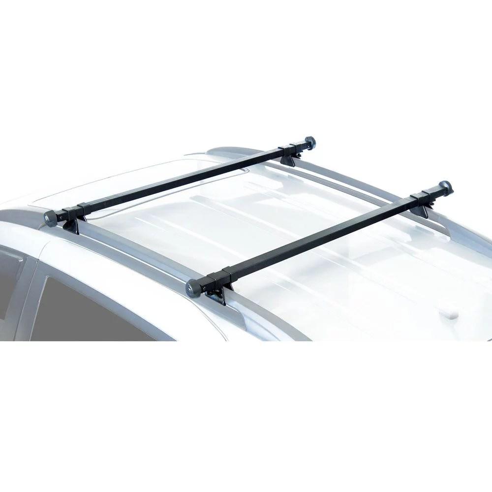 sportrack sr1010 complete roof rack system black