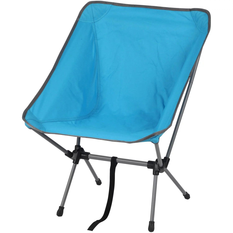 Ozark Trail Backpacking Chair Blue  Walmartcom