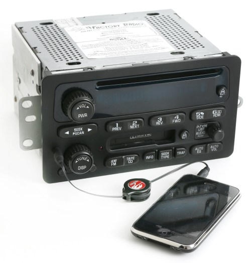 small resolution of 2000 05 chevy monte carlo impala radio am fm cd cassette w aux input 09394159 refurbished walmart com