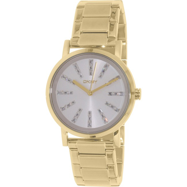 Dkny Women's Soho NY2417 Gold Stainless-Steel Quartz Fashion Watch